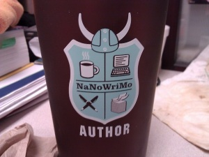 NaNoWriMo coffee cup