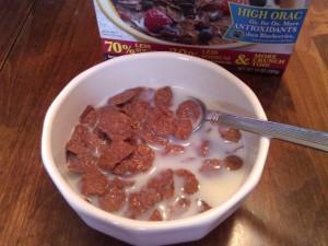 Bowl of Grain Berry® bran flakes