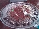 Last piece of cake eaten