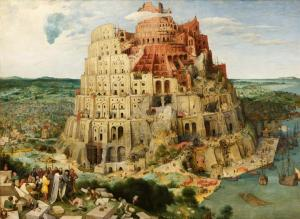 Tower of Babel, by Pieter Brueghel the Elder; Source: Wikipedia