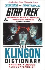 The Klingon Dictionary, by Marc Okrand
