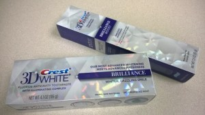 3D Crest® White® Brilliance toothpaste & Brilliance Boost polishing treatment